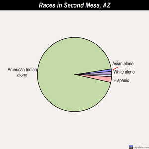 Second Mesa races chart