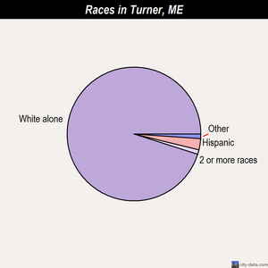 Turner races chart