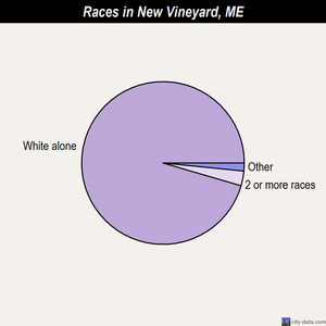 New Vineyard races chart