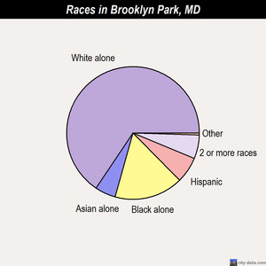 Brooklyn Park races chart