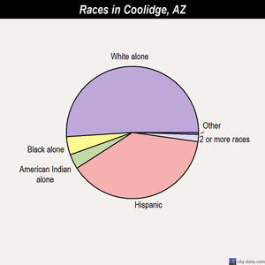 Coolidge races chart