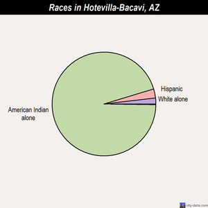 Hotevilla-Bacavi races chart