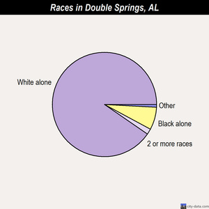 Double Springs races chart