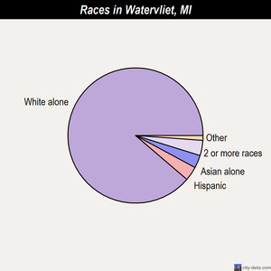 Watervliet races chart