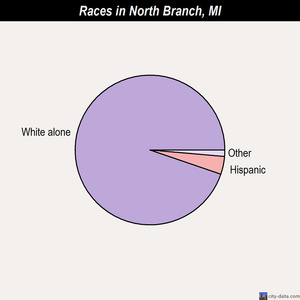 North Branch races chart