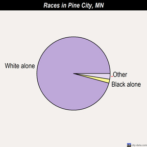 Pine City races chart