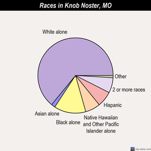 Knob Noster races chart