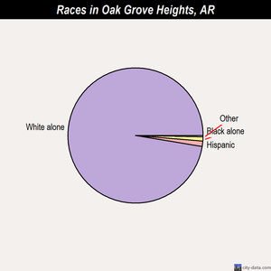 Oak Grove Heights races chart
