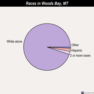 Woods Bay races chart
