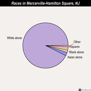 Mercerville-Hamilton Square races chart