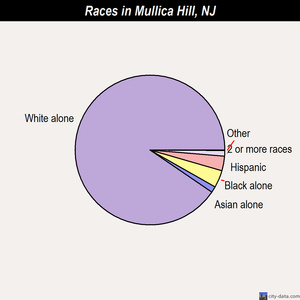 Mullica Hill races chart