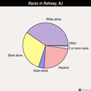 Rahway races chart