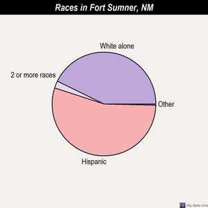 Fort Sumner races chart