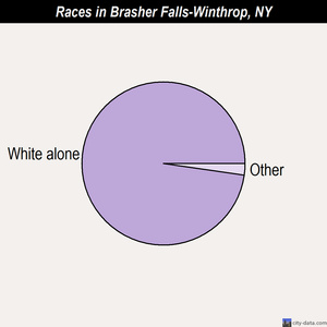 Brasher Falls-Winthrop races chart