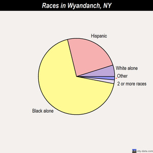 Wyandanch races chart