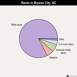 Bryson City races chart