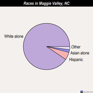 Maggie Valley races chart