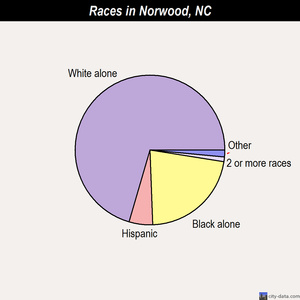 Norwood races chart