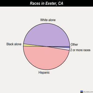 Exeter races chart