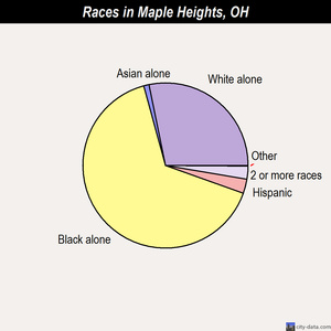 Maple Heights races chart