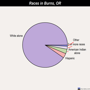 Burns races chart