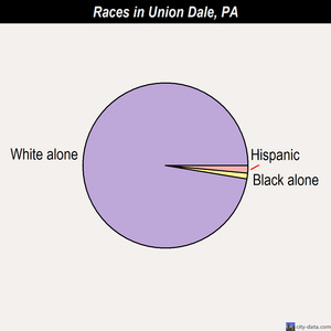 Union Dale races chart