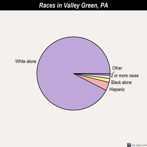 Valley Green races chart