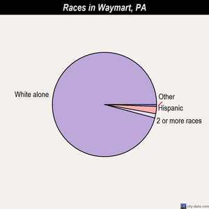 Waymart races chart