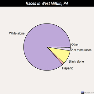 West Mifflin races chart