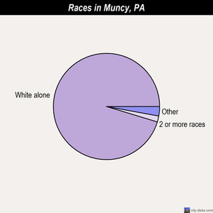 Muncy races chart