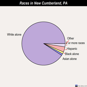 New Cumberland races chart