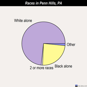 Penn Hills races chart