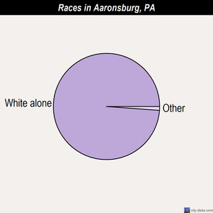 Aaronsburg races chart