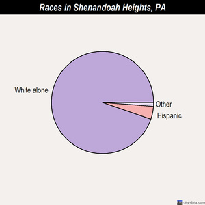 Shenandoah Heights races chart