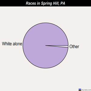 Spring Hill races chart
