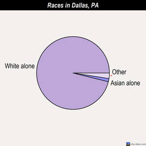 Dallas races chart