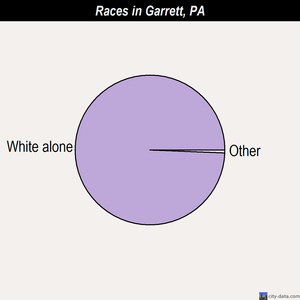 Garrett races chart