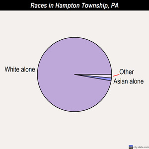Hampton Township races chart
