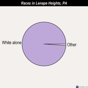 Lenape Heights races chart