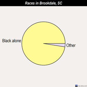 Brookdale races chart