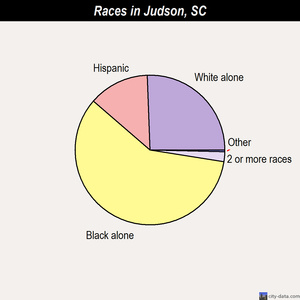 Judson races chart
