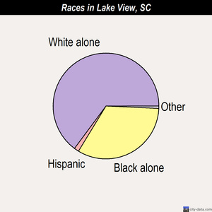 Lake View races chart