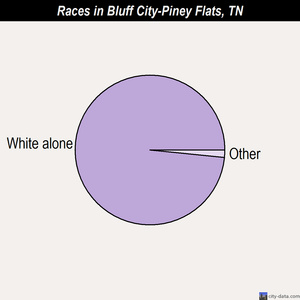 Bluff City-Piney Flats races chart