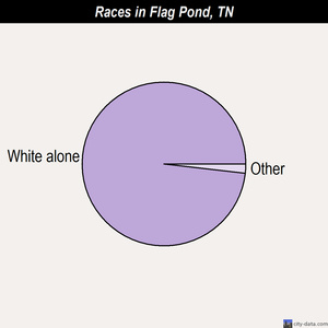 Flag Pond races chart