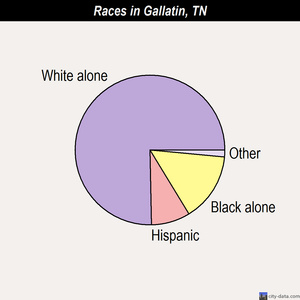 Gallatin races chart
