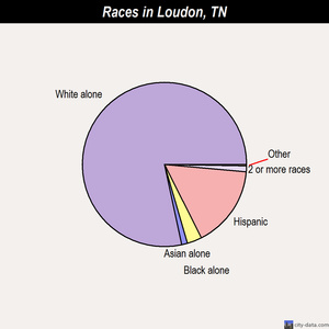 Loudon races chart