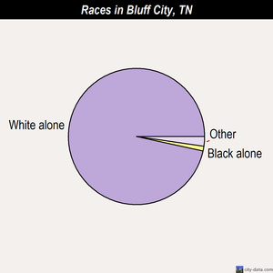 Bluff City races chart