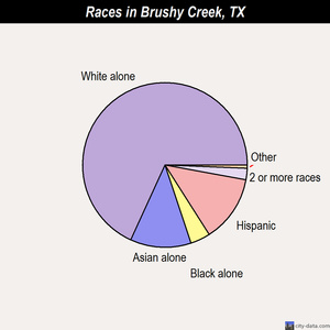 Brushy Creek races chart