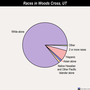 Woods Cross races chart