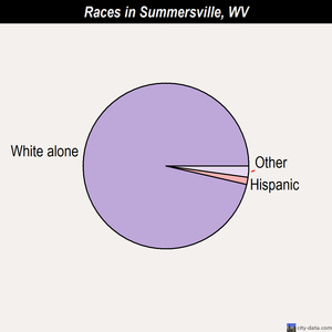 Summersville races chart